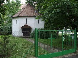 A templom a Prodám utca felől
